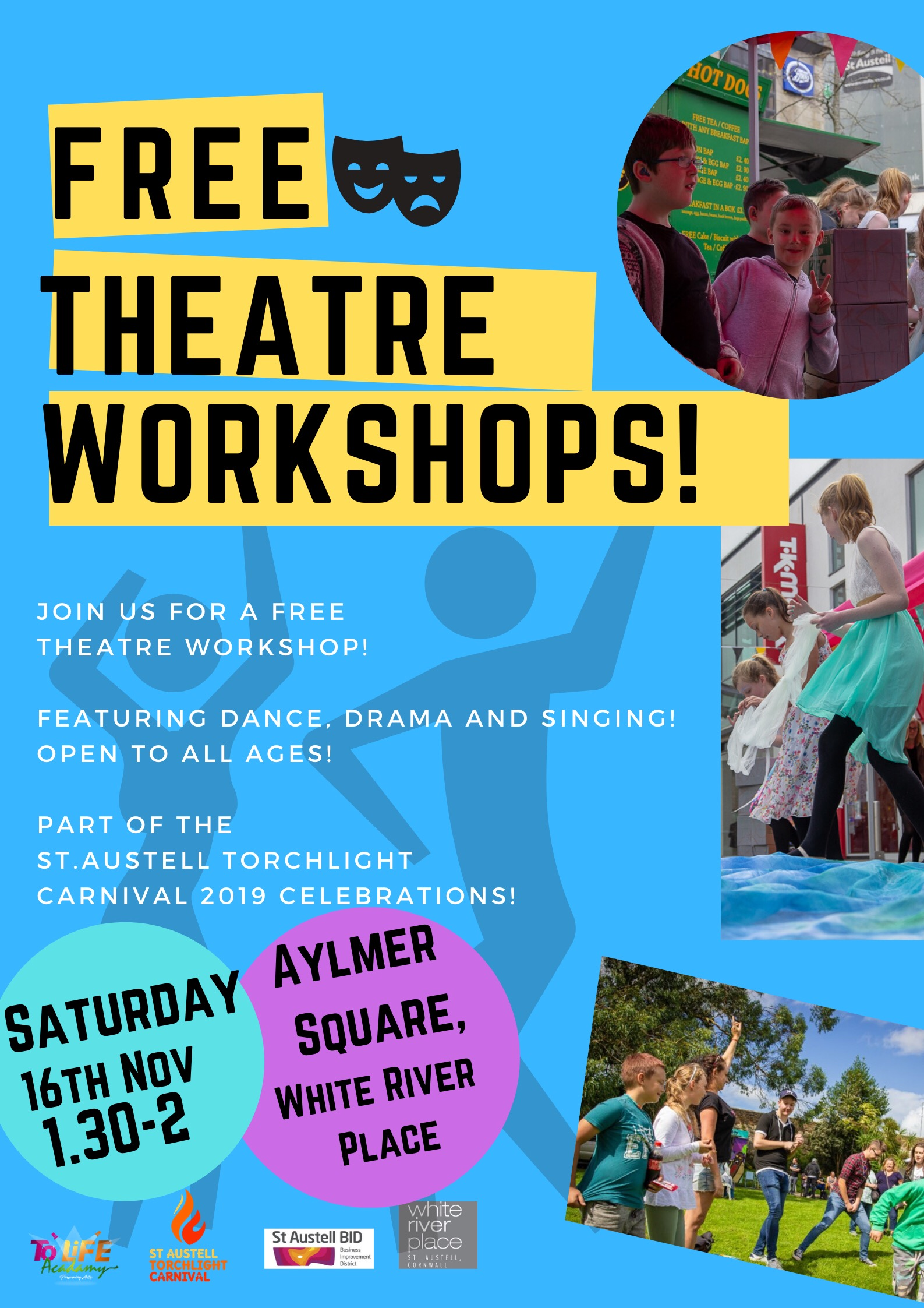 Join us for a for a free theatre workshop